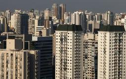 Τεράστια κτήρια, Σάο Πάολο στοκ φωτογραφία