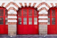 Τεράστια κόκκινη πύλη Στοκ Φωτογραφία