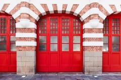 Τεράστια κόκκινη πύλη Στοκ Εικόνες