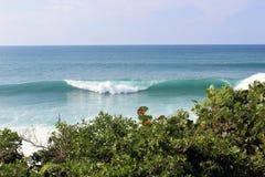 Τεράστια κύματα στο Πουέρτο Ρίκο Στοκ Φωτογραφίες