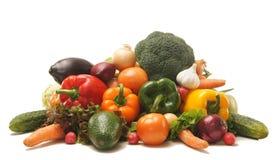 τεράστια λαχανικά σωρών νωπών καρπών Στοκ Φωτογραφίες
