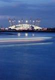 τεράστια σκηνή του Λονδίνου Στοκ Φωτογραφίες