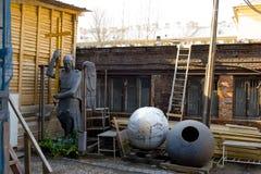 Τεράστιος άγγελος για την αποκατάσταση Στοκ Φωτογραφία