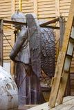 Τεράστιος άγγελος για την αποκατάσταση Στοκ Εικόνες