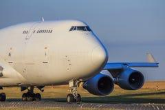 Τεράστιος - αεριωθούμενο αεροπλάνο Στοκ Εικόνα