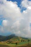 τεράστιο βουνό σύννεφων Στοκ Εικόνες