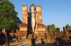 Τεράστιο ιστορικό πάρκο Sukhothai αγαλμάτων του Βούδα στην Ταϊλάνδη Στοκ φωτογραφίες με δικαίωμα ελεύθερης χρήσης