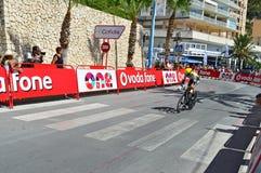 Τεράστιο Λα Vuelta ποδηλάτων αγώνα TT λότο ομάδας Στοκ Φωτογραφία