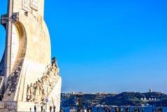 Τεράστιο μνημείο ανακαλύψεων στη Λισσαβώνα, Πορτογαλία Στοκ φωτογραφίες με δικαίωμα ελεύθερης χρήσης