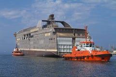 τεράστιο σκάφος Στοκ Εικόνες
