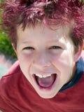 τεράστιο χαμόγελο Στοκ εικόνα με δικαίωμα ελεύθερης χρήσης