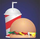 Τεράστιο burger Στοκ φωτογραφίες με δικαίωμα ελεύθερης χρήσης