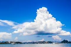 Τεράστιο poodle σύννεφο Στοκ Εικόνες