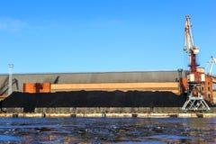 Τερματικό άνθρακα Στοκ εικόνα με δικαίωμα ελεύθερης χρήσης