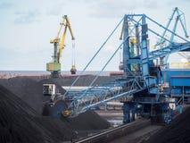 Τερματικό άνθρακα Στοκ φωτογραφίες με δικαίωμα ελεύθερης χρήσης