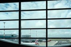 Τερματικό αερολιμένων στοκ εικόνα με δικαίωμα ελεύθερης χρήσης