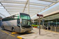 Τερματικό αερολιμένων λεωφορείων Σιγκαπούρη στοκ φωτογραφία με δικαίωμα ελεύθερης χρήσης