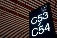 τερματικό αερολιμένων Στοκ φωτογραφίες με δικαίωμα ελεύθερης χρήσης