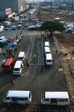 Τερματικό δημόσιου μέσου μεταφοράς, Νότια Αφρική Στοκ φωτογραφία με δικαίωμα ελεύθερης χρήσης