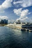 Τερματικό λιμένων κρουαζιέρας της Σιγκαπούρης Στοκ φωτογραφία με δικαίωμα ελεύθερης χρήσης