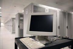 τερματικό κεντρικών υπολογιστών Στοκ φωτογραφίες με δικαίωμα ελεύθερης χρήσης