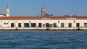 Τερματικό λιμένων της Βενετίας Στοκ φωτογραφία με δικαίωμα ελεύθερης χρήσης
