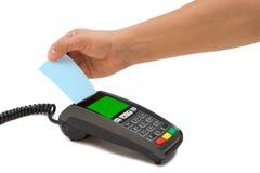 Τερματικό πιστωτικών καρτών Στοκ Εικόνες