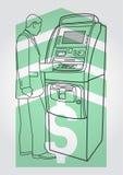 Τερματικό πληρωμής, ATM Στοκ φωτογραφίες με δικαίωμα ελεύθερης χρήσης