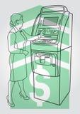 Τερματικό πληρωμής, ATM Στοκ Φωτογραφίες