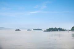 Τερματικό σεντ λιμνών Taihu Yuantouzhu Taihu Wuxi Στοκ Εικόνες