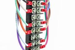 Τερματικό συνδετήρων καλωδίων Στοκ Εικόνες