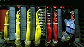 Τερματικό σύνδεσης καλωδίων Στοκ φωτογραφία με δικαίωμα ελεύθερης χρήσης