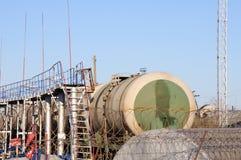 Τερματικό φόρτωσης πετρελαίου Στοκ Εικόνες