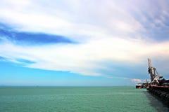 Τερματικό φόρτωσης των προϊόντων άνθρακα για τα φορτηγά πλοία, τα bulkers και την άποψη του φορτωτή γερανών φορτίου Αυστραλία; 20 στοκ εικόνες με δικαίωμα ελεύθερης χρήσης
