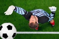 τερματοφύλακας σφαιρών π& Στοκ φωτογραφίες με δικαίωμα ελεύθερης χρήσης