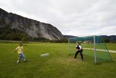 τερματοφύλακας Στοκ εικόνα με δικαίωμα ελεύθερης χρήσης