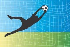 τερματοφύλακας ελεύθερη απεικόνιση δικαιώματος