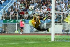 Τερματοφύλακας ποδοσφαίρου Στοκ εικόνα με δικαίωμα ελεύθερης χρήσης