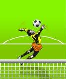 Τερματοφύλακας ποδοσφαίρου Στοκ φωτογραφία με δικαίωμα ελεύθερης χρήσης