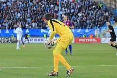 Τερματοφύλακας ποδοσφαίρου Στοκ Εικόνες