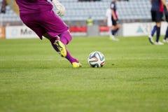 Τερματοφύλακας ποδοσφαίρου Στοκ εικόνες με δικαίωμα ελεύθερης χρήσης
