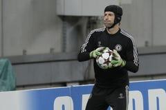 Τερματοφύλακας ποδοσφαίρου - Petr Cech Στοκ Φωτογραφίες