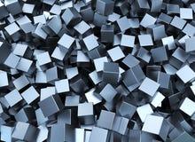 Τετράγωνα μετάλλων Στοκ Φωτογραφίες