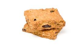 τετράγωνα granola στοκ εικόνες