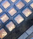 Τετράγωνα LIT Στοκ Εικόνες