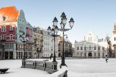 Τετράγωνο ένωσης σε Timisoara Στοκ εικόνα με δικαίωμα ελεύθερης χρήσης