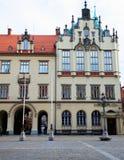 Τετράγωνο αγοράς και το Δημαρχείο σε Wroclaw, Πολωνία Στοκ εικόνα με δικαίωμα ελεύθερης χρήσης