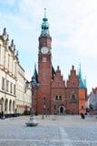 Τετράγωνο αγοράς και το Δημαρχείο σε Wroclaw, Πολωνία Στοκ φωτογραφία με δικαίωμα ελεύθερης χρήσης