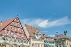 Τετράγωνο αγοράς σε Esslingen AM Neckar, Γερμανία στοκ φωτογραφίες