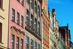 Τετράγωνο αγοράς σε Wroclaw, Πολωνία Στοκ Φωτογραφία